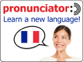 Learn 60 languages with pronunciator!