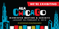 We're exhibiting at ALA Mid-Winter Chicago 2015